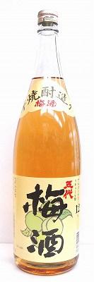 本格芋焼酎造り 五代梅酒 1800ml
