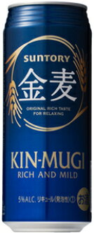 Loss special Suntory gold wheat 500 ml cans x 24