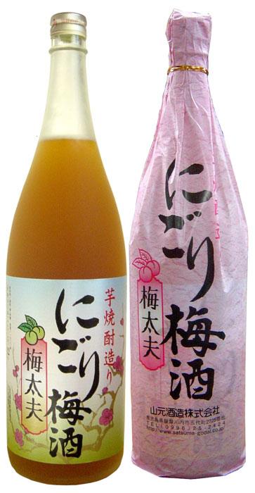 五代梅酒 にごり梅酒【梅太夫】12度1800ml
