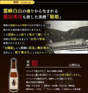 日本酒紹介・菊姫