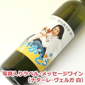 【格言名言】写真入りラベル・メッセージワイン(イタリア ナターレ・ヴェルガ 白)【写真入り】【贈り物】【ギフト】【プレゼント】