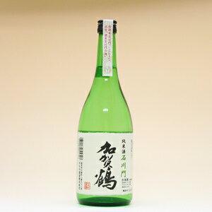 【石川県・金沢市】加賀鶴純米酒石川門(辛口・720ml)