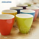 ZEROJAPANティーカップトールTC-02ゼロジャパン日本製美濃焼コーヒーカップティーカップ湯のみ湯呑マグカップコップ