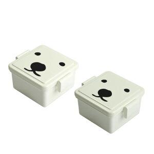 保冷剤一体型ランチボックス GEL-COOL(ジェルクール) 「GEL-COOまシリーズお弁当箱/ペアベアセット」オス・メス×各1頭【お弁当グッズ、キャラ弁、保冷ランチボックス、人気のキャラクター、