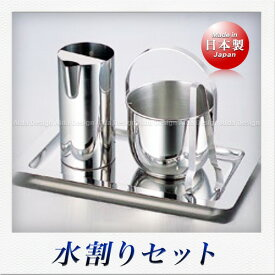 佐野製作所 スリム 水割りサービスセット(トレー付)