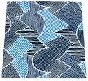 【こはれ】風呂敷 〜ふろしき〜ねんりん ブルー 約70cm 日本製二巾ふろしき エコロジー・アイテム