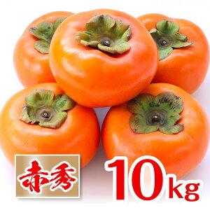 [送料無料][あす楽]和歌山県産 富有柿 産地直送 フルーツマイスターが選別(10kg)