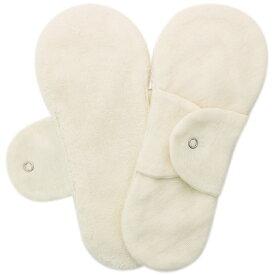 布ナプキン型 ヒエトリパット〈肌にさらっと柔らかい〉Imabari ホワイト 両面使用可 《オールオーガニック》冷えとりライナー【ご好評につき、入荷までお待ちください】