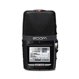ZOOM ズーム MSステレオマイクXYステレオマイク搭載 リニアPCM/ICハンディレコーダー ブラック フィールドレコーディング H2n