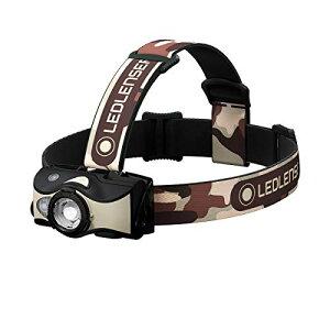 Ledlenser(レッドレンザー) MH8 ブラック/サンド LEDヘッドライト 釣り USB充電式 [日本正規品]