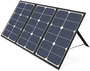 ソーラーチャージャー 63W VITCOCO 折りたたみ ソーラーパネル QC3.0搭載 5v 12v 18v急速充電 太陽光発電 iPhone/Android各機種対応 ノートパソコン用変換プラグ付 IPX3防水 アウトドア 防災 非常用時