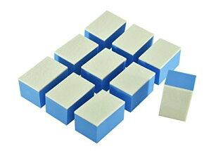 [TARO WORKS] ウロコ コンパウンド 研磨 ガラス撥水剤塗布用 フェルト スポンジ 10個入り 日本製