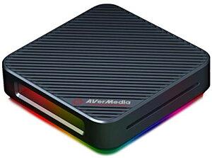 AVerMeda Live Gamer BOLT GC555 外付けゲームキャプチャー [4K HDR 60p対応] パススルー機能付 Thunderbolt3接続 DV528