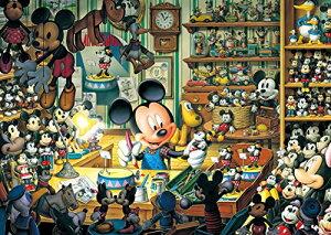 108ピース ジグソーパズル ディズニー ミッキーのおもちゃ工房 【光るジグソー】 (18.2x25.7cm)