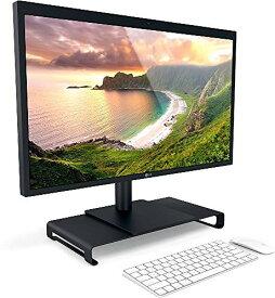 Satechi アルミニウム モニタースタンド 高品質ユニバーサル ユニボディ(ノートパソコン/ iMac / PC など対応) (ジェットブラック)