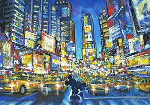 1000ピース ジグソーパズル ディズニー You, Me and the City 【ステンドアート】 (51.2x73.7cm)