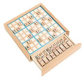 数独 すうどく 脳トレ 卓上 ボード ゲーム 9ブロックパズル 知育 玩具 パズル 木製 ナンプレ ナンバープレース 数字 活脳