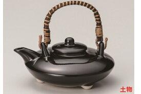 黒釉 400cc ぢょか16.5x15.5x7.5cm 日本製焼酎を楽しむための酒器 薩摩生まれの燗付器「黒千代香」芋焼酎のお湯割り 燗つけに 家呑み 毎日の晩酌に 焼酎ファン お酒好きのプレゼント 贈り物に