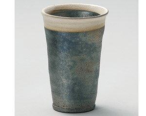430cc 黒窯変 信楽焼きビァグラス日本製ビール 梅酒 ジュース アイスコーヒー ドリンクカップ お冷