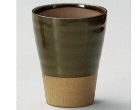 290cc 織部 ビアタンブラー8.2x10.3cm 日本製 ワイン 焼酎 冷酒 甘酒 和カクテルデザートカップや ジュース お茶 ドリンクカップとしても