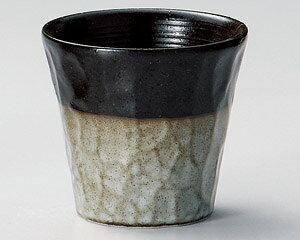 280cc いぶし灰釉 梅酒カップ日本製の フリーカップ & ビールカップ & そば猪口にも
