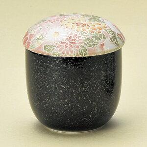 まるこ蒸し 赤花 160cc 蒸し茶碗7x8cm  日本製ヘルシー具だくさんの茶碗むし  温かい蒸し物業務用 茶碗蒸し容器 蒸茶碗 蒸し碗