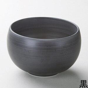 16cm 有田焼 なつめ丼が 2色 黒と白16cmx10cm 日本製シンプルモダンな和カフェ食器 和洋ボウル御飯物 カフェ丼 ヌードル サラダ スープ シチュー 多目的に使える便利な中サイズどんぶり
