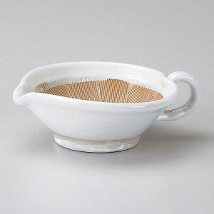 MINE 12cm 持ち手つき 乳白 手付すり鉢 & ごまだれドレッシング日本製 美濃焼下ごしらえの擂る おろす 潰す 絞る作業は安全な国産食器で