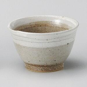 灰粉引 12cm むぎとろスリ鉢 小丼 納豆鉢 小日本製 美濃焼下ごしらえの擂る おろす 潰す 絞る作業は安全な国産食器で