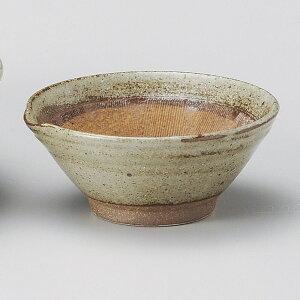 唐津釉 12cm 4寸すり鉢 &納豆鉢 小日本製 美濃焼下ごしらえの擂る おろす 潰す 絞る作業は安全な国産食器で