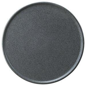 オードブルx銀燐 25cm ピザ & 丸アミューズ皿25x0.9cm 内径22.5cm 日本製 シンプルなラウンド フラット皿前菜 チーズ盛り合わせ デザート パーティ アラカルト 和洋対応 高級感あるおしゃれ
