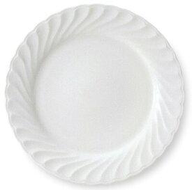ニューウェーブ 23cm ミート皿やさしい乳白のSILKYBONE