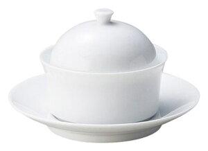 パルモ 9cm バター & ジャム スタックボール (受皿付) 口径9.6cm 120cc 受け皿14.2cm 業務用卓上用品