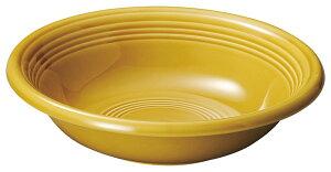 オービット 24cm パスタ & スープボウル アンバーイエロー24cmx6cm 日本製厚口クラシカルな業務用カフェ ダイナー タパス食器スパゲッティ カレーボウル リゾット シチュー スープ