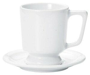 カントリーサイド 330cc マグ カップ&ソーサー ミルキー(白)日本製美濃焼厚口のカフェ ダイナー タパス食器コーヒー 紅茶 カプチーノ カフェラテ スープ ココア
