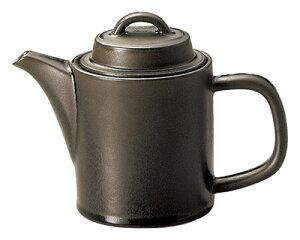 スパダ 580cc ポット ラバブラウン(灰茶)日本製美濃焼厚口の業務用カフェ ダイナー タパス食器大きめコーヒー 紅茶ポット ハーブティー