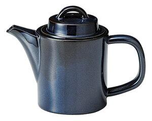 スパダ 580cc ポット スカンジナビアンブルー19.5x9.7x14cm 日本製 美濃焼厚口の業務用カフェ ダイナー タパス食器コーヒー 紅茶ポット ハーブティー
