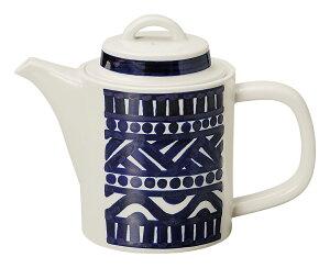 BACKE 580cc ポット19.5x9.7x14cm 日本製美濃焼業務用カフェ ダイナー タパス食器大きめコーヒー 紅茶ポット ハーブティーポット