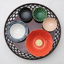 松花堂 5品籠盛「雪つばき」 溜篭と小鉢5点のセット 日本製 うつわ付 松花堂弁当