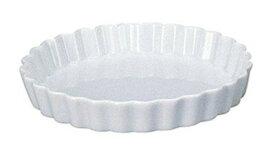 白 Pie Dish 丸型26cmパイ 皿日本製 美濃焼丈夫な国産食器オーブン可 レンジ可 食洗機対応