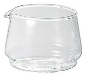 400cc ガラスピッチャー長径10cm 高さ5.8cm涼しげなガラス製の大き目ピッチャーミルク入れ クリーマー ドレッシング ソースポットとしても