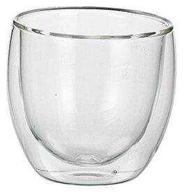 耐熱 ダブルウォールグラス ミニ6.5cmx6.4cm 110cc 耐熱ガラス製 ホットでもアイスでも使えるマルチカップ ロック お湯割り 熱燗 冷酒盃 ディップソース シロップ ドレッシング業務用マルチグラス食器