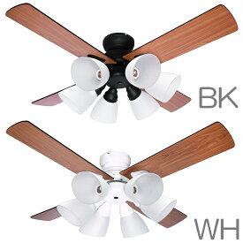 【あす楽】シーリングファン Windouble ウィンダブル 6灯   BIG-102   全2色   羽根径106cm   リバーシブル羽根   リモコン付属   1年保証