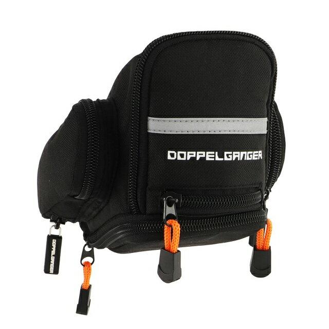 【あす楽】DOPPELGANGER エクステンションサドルバッグ DBS353-BK | 大容量3L収納 | シートレール固定型 | ドッペルギャンガー