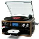 【あす楽】DCT 木目調 CDマルチレコードプレーヤー   DCT-7000S   各音源をSDカードに録音可能   1年保証