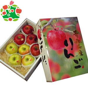 りんご サンふじ 王林 特選大玉 化粧箱 青森県産 ギフト 贈答用 3kg 送料無料