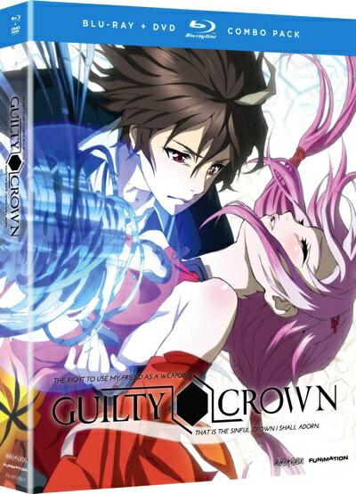 ギルティクラウン コンプリートシリーズ Part1 ブルーレイとDVDのセット TVアニメ Guilty Crown: Complete Series, Part 1・お取寄