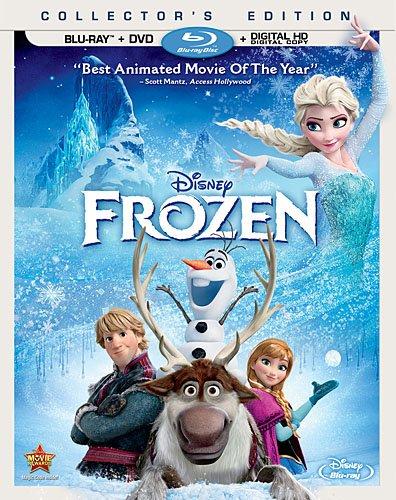 北米版 ディズニー アナと雪の女王 Disney Frozen(Blu-ray+DVD) 2014 (2013) 英語版 ブルーレイディスク アナ エルサ クリストフ スヴェン オラフ
