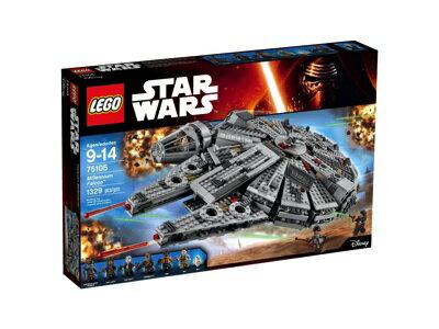 LEGO レゴ 75105 スター・ウォーズ ミレニアム・ファルコン Star Wars Millennium Falcon レゴブロック 組立キット・お取寄