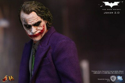 The Joker ダークナイト ジョーカー DX 2.0 - Sixth Scale Collectible Figure Hottoys ホットトイズ 1/6スケール コレクション・フィギュア-・お取寄